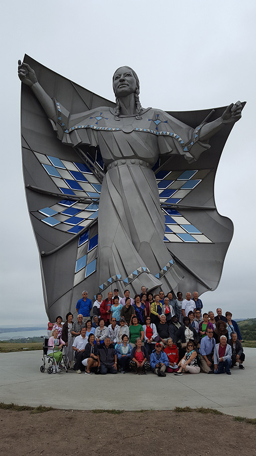 Group in front of Lady Dignity - South Dakota
