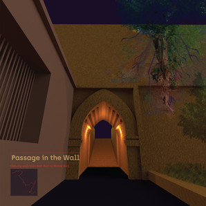 Passage in the wall