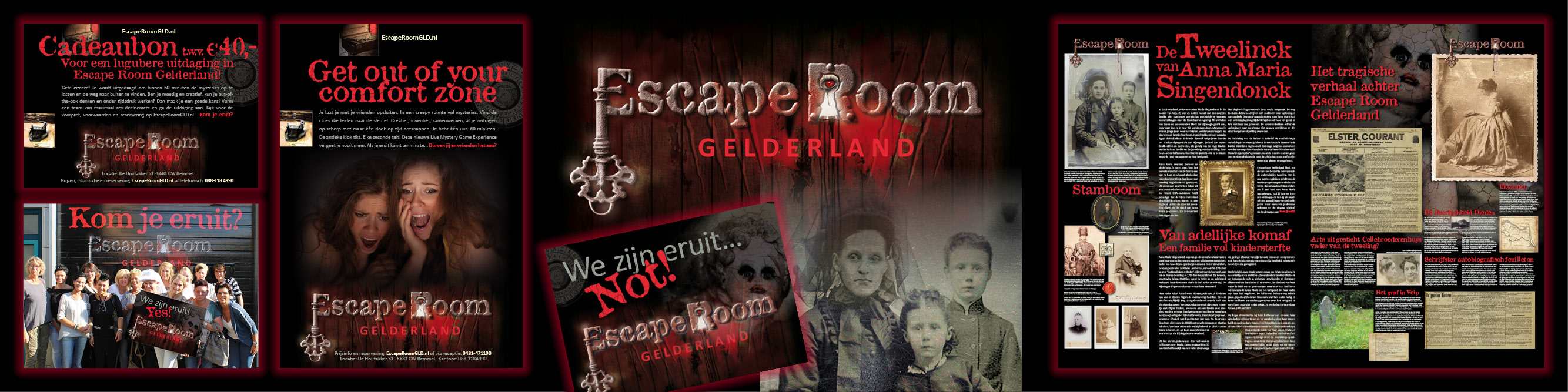 Escape Room Gelderland: bizar...
