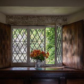 Window in shadow