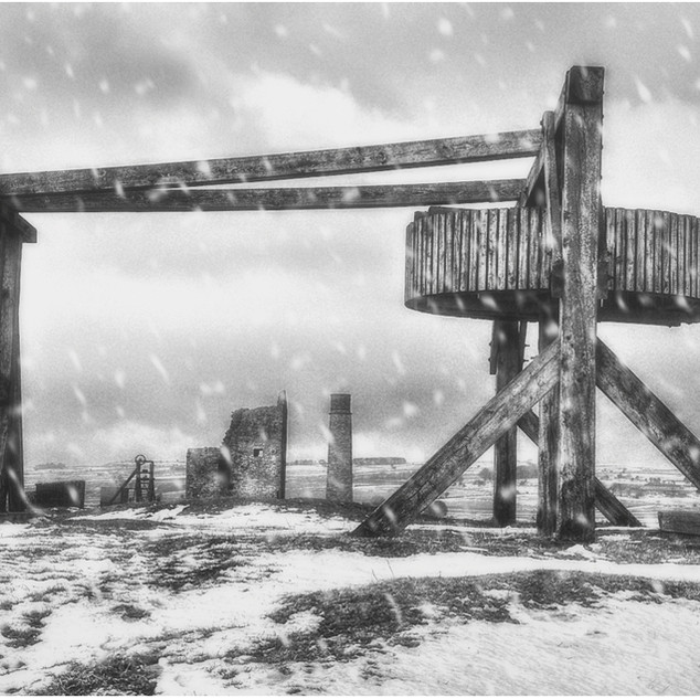 Winter at Magpie Mine