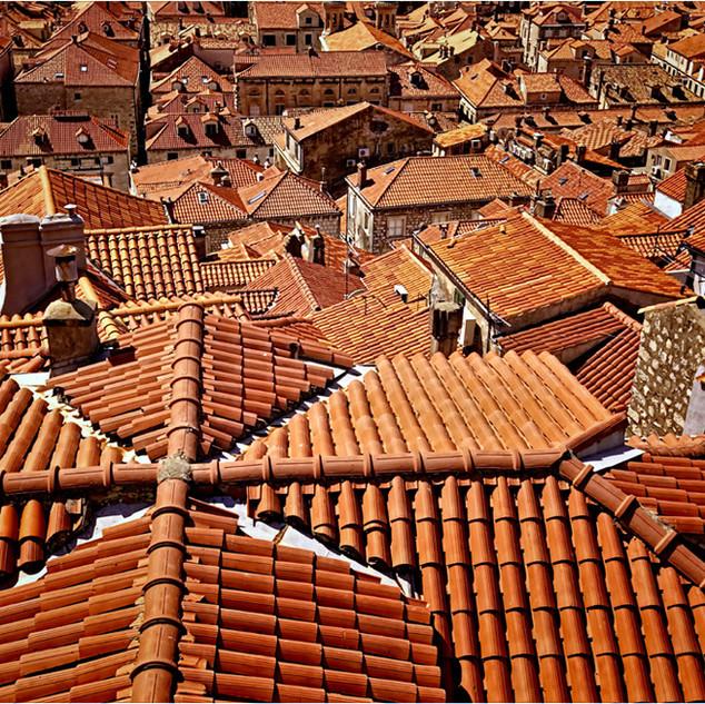 Terracotta view Dubrovnik