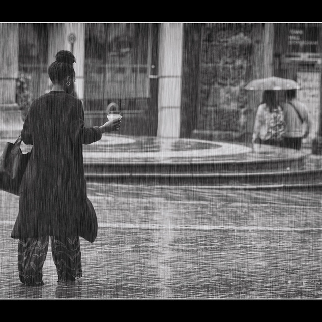 Cought Out In the Rain by Ken Hudson