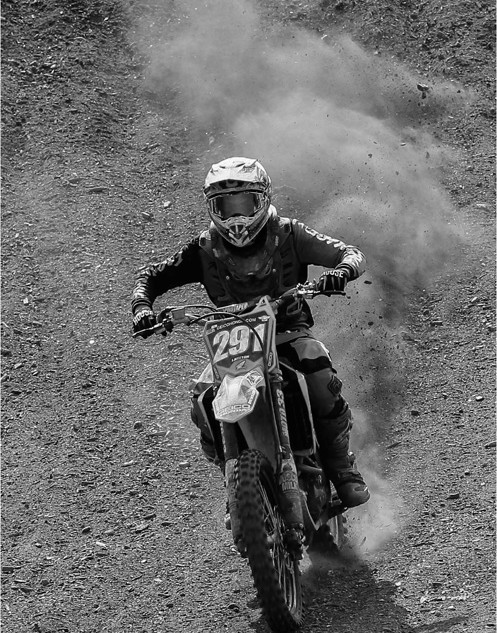 KICKING UP A DUST
