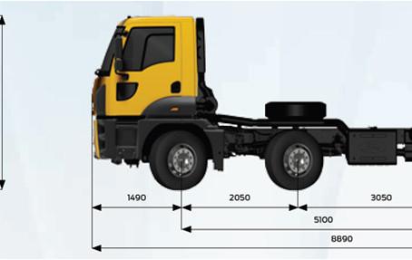 Технические характеристики Ford Cargo 4142D