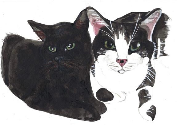 Calypso and Marie