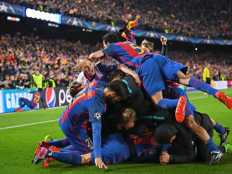 Barcelona vs Paris Saint-Germain 2016/17 (6-5): The greatest comeback in Champions League history