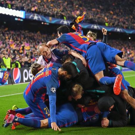 Barcelona vs Paris Saint-Germain 2016/17 (6-5): The greatest comeback in Champions League history