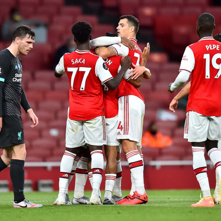 Arsenal beat Liverpool as The Champions miss out on a chance to make history