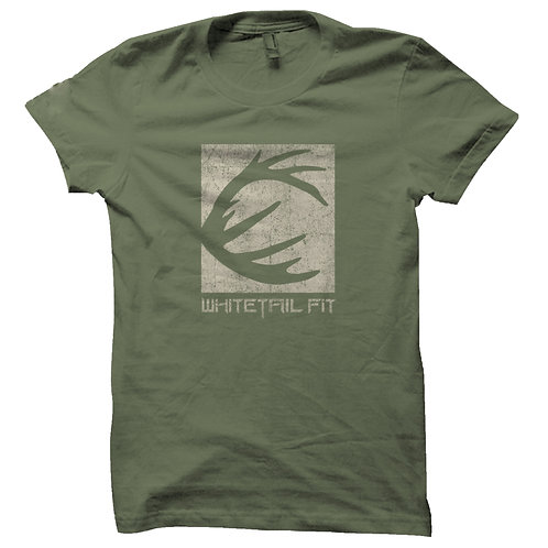 ANTLER TEE / MILITARY