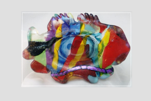 Fused Glass Dish - Fused Fish