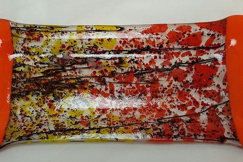 Fused Glass Dish - Fused Fall Splender