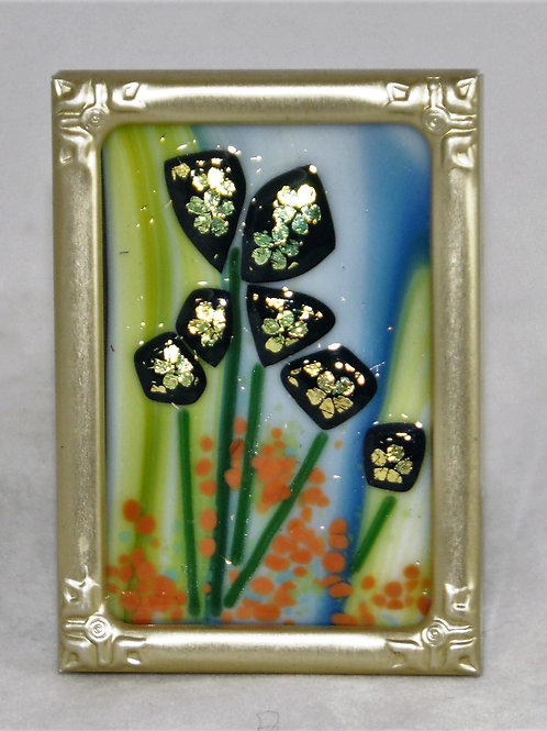 Spring Fusion - Fused Glass Picture