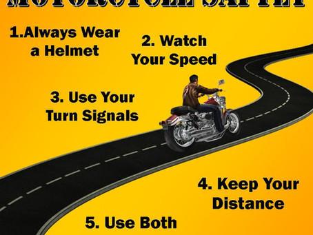 Spring motorcycle safety in western Washington