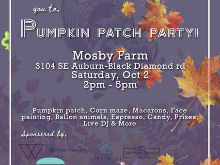 Pumpkin Patch Party 2021