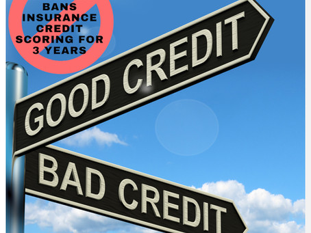 Washington State credit scoring ban
