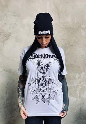 Darktimes Sphynx & Skull (white)
