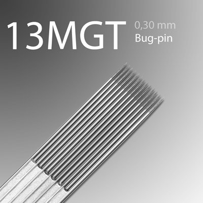 13MGT (Bugpin) 0.30mm (surgical steel) SA