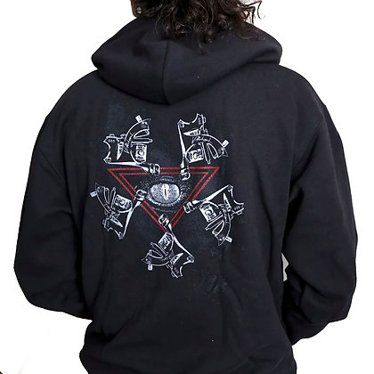Pentacle Machine Zip-Hood
