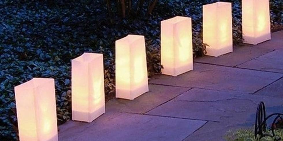 Lights of Peace & Hope Luminaria Event