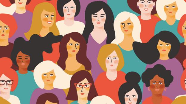 العمل في ظل امرأة