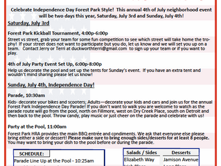 4th of July Independence Day Celebrations!