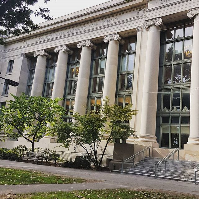 Harvard Law School's library #goals