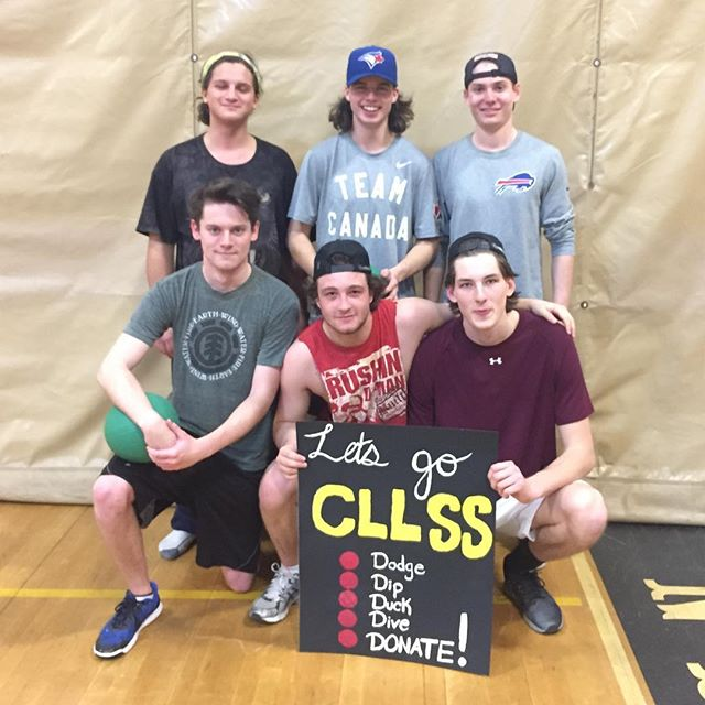Congratulations to these happy general members of Team Jared for winning the CLLSS Dodgeball Smackdo
