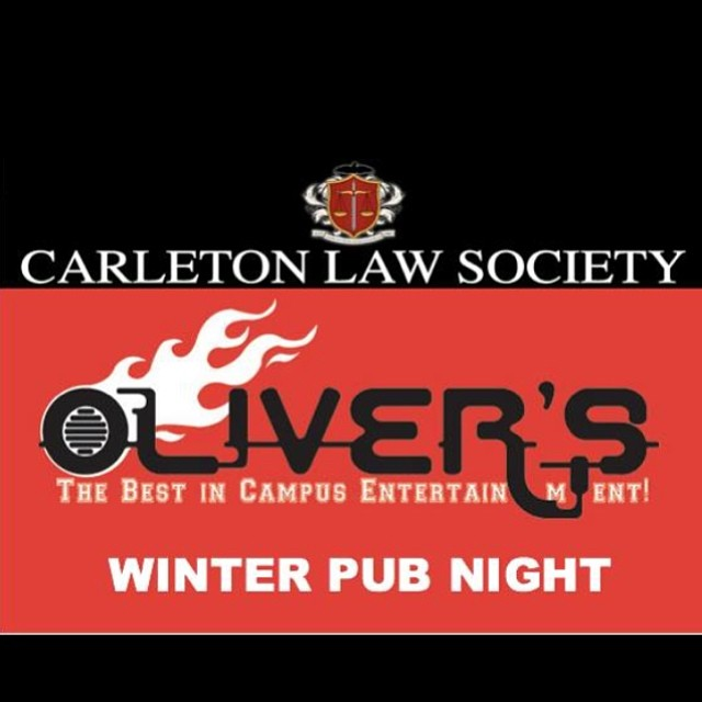 It is that time of year again! The Carleton Law Society will be hosting its Bi-Annual Pub Night at O