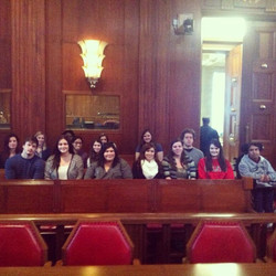 Check out our members at the Supreme Court of Canada getting a behind the scenes look at law in Cana