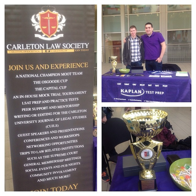The Carleton Law Society is tabling in the atrium from 9-5 today! Feel free to drop by to ask any qu