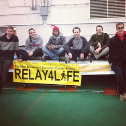 We made it! Thank-you to everyone who supported our #relayforlife team; your generosity and thoughts