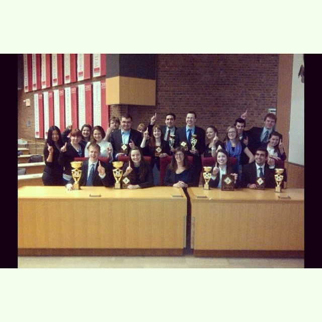 The Carleton Law Society Moot Team at the 9th Annual Osgoode Cup Undergraduate Mooting Competition #