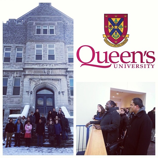 Thank-you _queensuniversity for having us on Saturday to visit the Faculty of Law