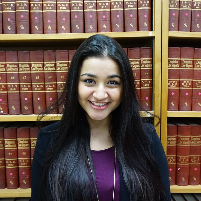 2016 Vice-President Internal. Anita Lodi is entering her second year at Carleton University, strivin
