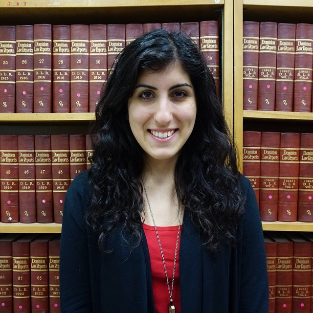 2016 CLLSS President_ Sheema Rezaei is currently double majoring in French and Law with a concentrat