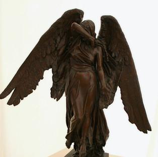 Earth Fountain Angel