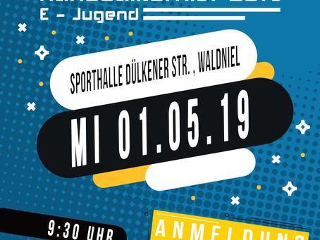 2. Waldnieler E-Jugendhandballturnier