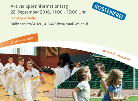 KIDS IN ACTION 22.9.18 11-15 Uhr,