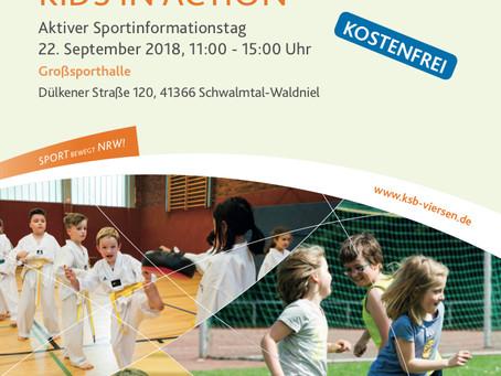 KIDS IN ACTION 22.9.18 11-15 Uhr,