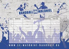 Stundenplan SC Waldniel