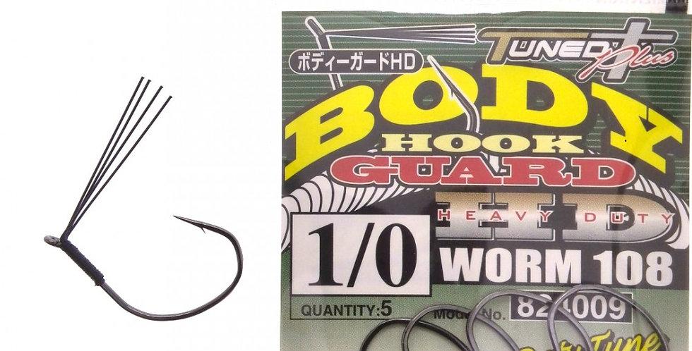 DECOY WORM 108 BODY GUARD HD HOOK