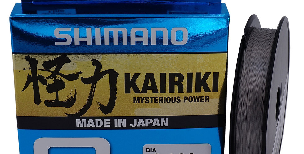 SHIMANO KAIRIKI 8 STEEL GRAY