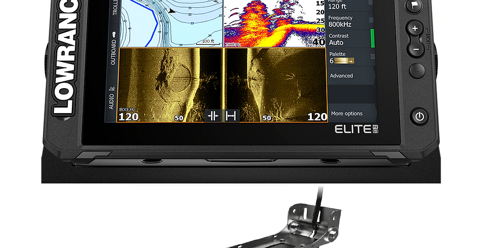 LOWRANCE ELITE FS 9 ACTIVE IMAGE3 in 1