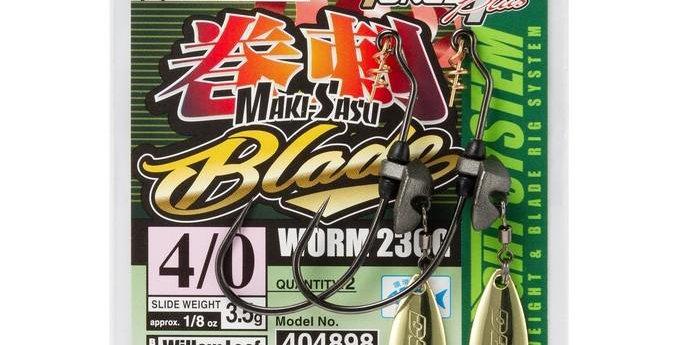 DECOY WORM 230G MAKISASU GOLD BLADE