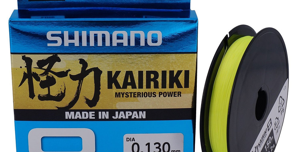 SHIMANO KAIRIKI 8 YELLOW