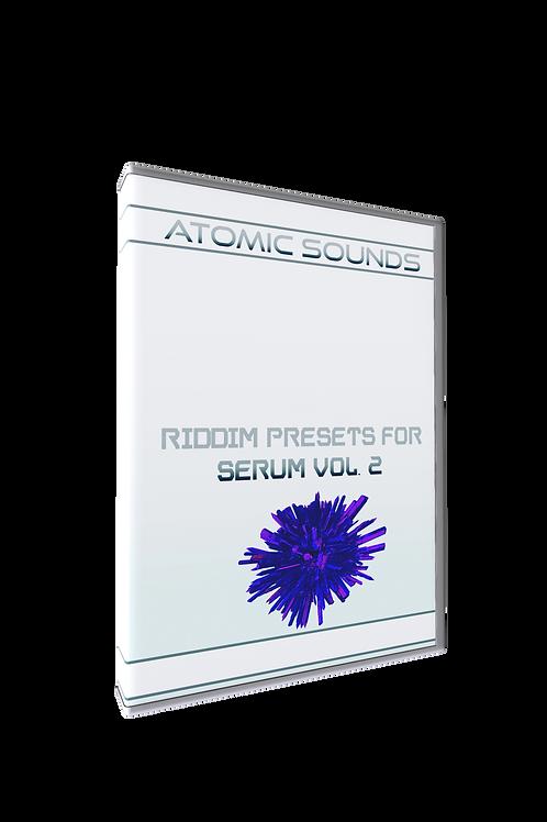 Atomic Sounds - Riddim Presets For Serum Vol. 2