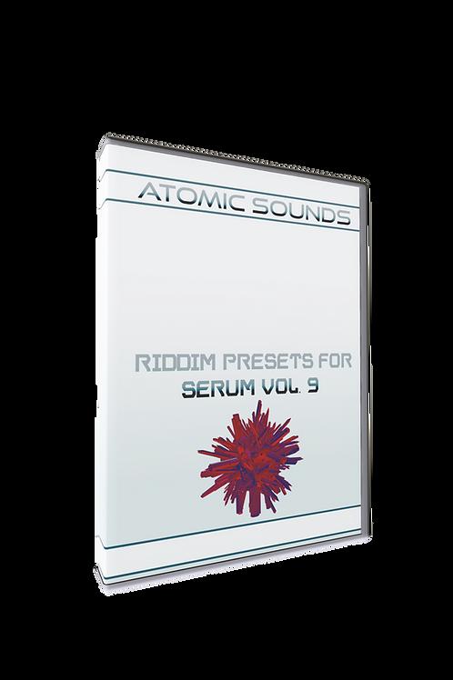 Atomic Sounds - Riddim Presets For Serum Vol. 9