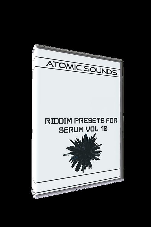 Atomic Sounds - Riddim Presets For Serum Vol.10