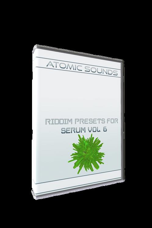 Atomic Sounds - Riddim Presets For Serum Vol. 6